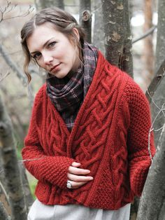 "Nora Gaughan pattern ""Aeneas"" available in Volume 9   http://www.ravelry.com/patterns/library/aeneas"