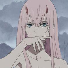 Image about anime in Darling in the franXX by yumemirushojo~ Lolis Anime, Kawaii Anime, Anime Art, Waifu Material, A Silent Voice, Cute Anime Pics, Anime Profile, Zero Two, Anime Screenshots