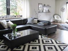 Salas en blanco y negro -