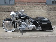 Dorian's Harley Roadking    Ridewright Wheels #48