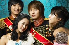 Goong (Princess Hours) {Korean Drama}  (Yoon Eun Hye, Joo Ji Hoon, and Kim Jeong Hoon)