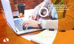 Conheça os passos para você desenvolver um bom planejamento de marketing digitalpara sua empresa.Saiba o que levar em consideração em seu projeto!