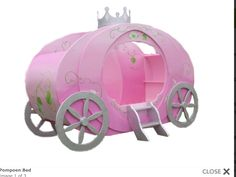 Meisjes kamer on pinterest - Bed voor een klein meisje ...