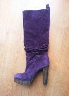 Kaufe meinen Artikel bei #Kleiderkreisel http://www.kleiderkreisel.de/damenschuhe/stiefel/135111454-scharfe-miss-sixty-plateau-stiefel