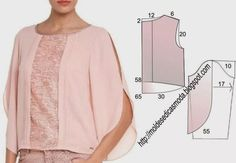 Tremendous Sewing Make Your Own Clothes Ideas. Prodigious Sewing Make Your Own Clothes Ideas. Sewing Patterns Free, Clothing Patterns, Dress Patterns, Diy Fashion, Ideias Fashion, Diy Clothes, Clothes For Women, Sewing Blouses, Couture Sewing
