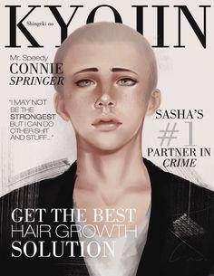 SnK Magazine: Connie by putemphasis.deviantart.com on @DeviantArt