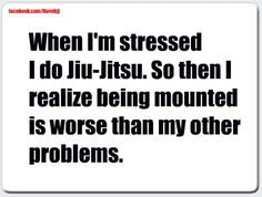 Jiu Jitsu for stress