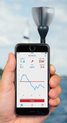 Vaavud Sleipnir - Windstärken und Richtungsmesser Die Schönheit des Einfachen...  Das Design des VaavudSleipnir ist gleichermaßen inspiriert worden von einem professionellen Anemometers und einer in Dänemark entwickelten Windturbine. Er ist absolut taschentauglich, da er lediglich 2 Wind-Fücher braucht. Das VaavudSleipnirWindmessgerät ist aus einem hochwertigem Kunststoff gefertigt und verfügt über einen hochpräzise ...