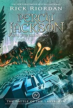 book cover of The Battle of the Labyrinth