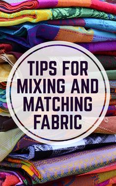If you've been sewing a while, or even if you've just recently started, you've probably got more than a few pieces of fabric lying around your sewing room. And while just one of those fabrics may not be enough to complete a project, combining multiple fabrics could get it done. Tara Rex shows you that it's okay to mix-and-match sewing fabrics – even combining polka dots with stripes!