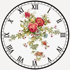 Decoupage Vintage, Decoupage Paper, Vintage Maps, Clock Craft, Diy Clock, Clock Face Printable, Retro Clock, Wood Clocks, Gifts For Office