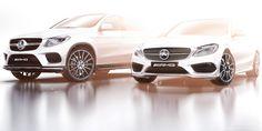 Mercedes-Benz опубликовал изображения конкурента BMW X6