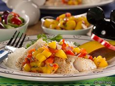 Mango Tango Fish Fillets - A tropical seafood feast!