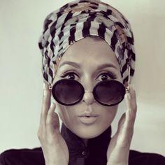 Check Out 6 Muslimah Hijab Fashion Mode Turban, Turban Hijab, Turbans, Headscarves, Dina Tokio, Pashmina Hijab Tutorial, Hijab Wedding Dresses, Hijab Bride, Hijab Fashionista