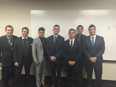 The boys looking clean for our company meeting #2313Inc