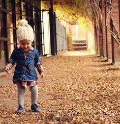 Little Style | Leaf Crunching