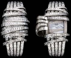 Diamond-Wrapped Watches - The Piaget Limelight 2009 Collection Timepieces are Sparkly (GALLERY)