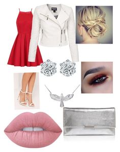 """""""Untitled #43"""" by maeve-nelsen on Polyvore featuring Chi Chi, Missguided, Barbour International, Loeffler Randall, Zoe & Morgan and Lime Crime"""
