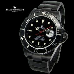 Rolex Submariner Black-Out Edition