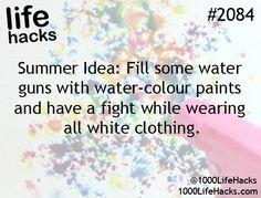 Fun summer idea