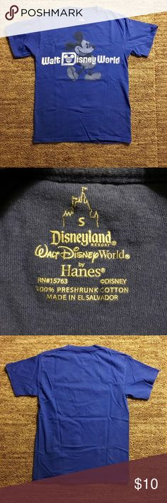 Disney World T-Shirt Disney World T-Shirt. Great condition! Unisex  Comes from a pet free, smoke free home! Disney Tops Tees - Short Sleeve