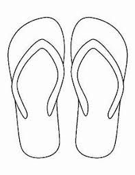 2a1336da3acdda Image result for line drawing flip flops