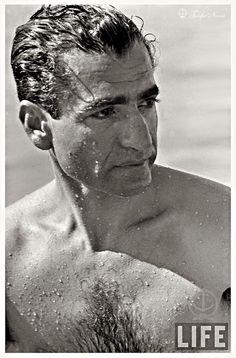 Mohamed Reza Pahlavi At Miami Beach 1955 (B) Farah Diba, King Of Persia, Iran Pictures, Pahlavi Dynasty, The Shah Of Iran, Persian Pattern, Ancient Persia, King Of Kings, Male Face