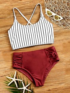 Bathing Suits For Teens, Summer Bathing Suits, Swimsuits For Teens, Tankini Swimsuits For Women, Cute Bathing Suits, Cute Swimsuits High Waisted, High Waist Bathing Suits, High Waist Swimsuit, Swimsuits For Juniors