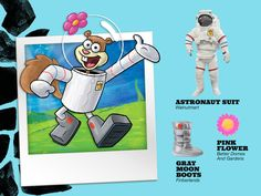 Everyone needs a Sandy Cheeks astronaut suit in their closet.