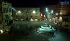 Live Cam Perugia - IV November Square