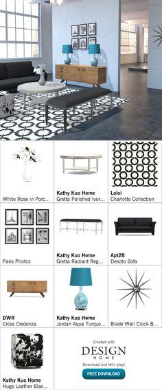 Created with Design Home! Jordan Aqua, Paris Photos, White Roses, Floor Plans, House Design, Home Decor, Art, Art Background, Decoration Home