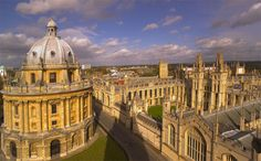 Oxford's dreaming spires and golden stone have inspired students for generations. Architectural highlights include the 18th-century Radcliffe Camera (pictured left), the Bodleian library and Magdalen College.