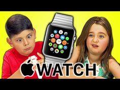FineBros:Kids react to Apple Watch