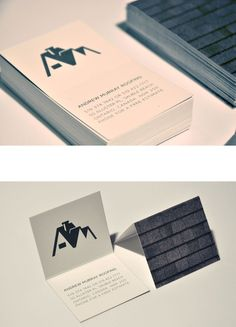 Look at this interesting photo - what an inspired design and development Roofing Logo, Logo Branding, Brand Identity, Home Logo, Grafik Design, Name Cards, Business Cards, Stationery, Logo Design