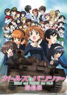 Sentai Filmworks Unveils Girls und Panzer der Film Dub Cast by Mike Ferreira