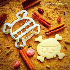 Pirate Skull cookie cutter