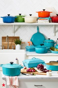 No kitchen is complete without at least one piece of cast iron cookware from Le Creuset. Not only does it cook every meal evenly, but it's also gorgeous. A true oven-to-table must. Shop the collection now on macys.com!