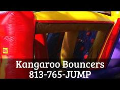 Tampa Bounce House Rentals in Land O Lakes.  Check us out!  http://www.KangarooBouncers.com