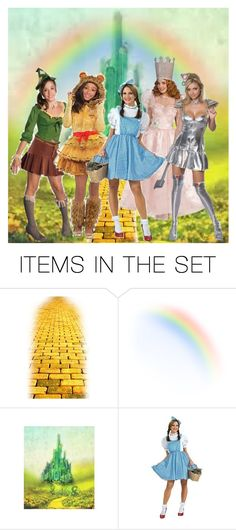 """""""The New Crew - Over the Rainbow"""" by lois-boyce-flack ❤ liked on Polyvore featuring art"""