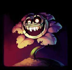 Stage lights are blaring Flowey Undertale, Undertale Fanart, Flowey The Flower, Monster Sketch, Little Nightmares Fanart, Villainous Cartoon, Toby Fox, Rpg Horror Games, Dog Games