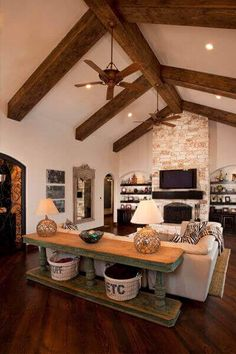 Among our suggestions, you will certainly find a bit of every taste, room and feel you want your exposed beam ceiling lighting ideas you might have.  #homedesignideas #homedesign #homeideas #interiordesign #homedecor #exposedbeam #CeilingLights #ceiling