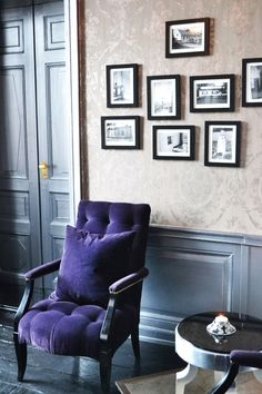 └ 紫|海外インテリアに学ぶおしゃれな部屋と色「ユメヲカタチニ」