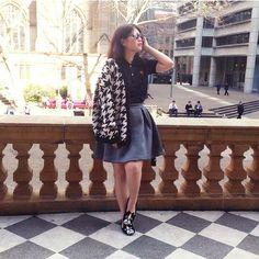 Easy Breezy _ Brand & Marketing Director, Ms @tjandrafanny picks Ellie Plead Skirt for her getaway! #Jolie #JolieClothing #JolieIndonesia #JolieJakarta #ootd #Fashion #onlineshop #clothingline #IAmJolie #Enchanté2015