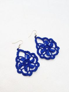 PDF Tutorial Crochet PatternDangle Earrings 15 by accessoriesbynez, $3.75