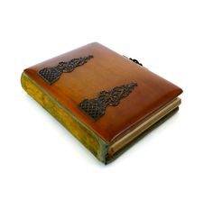 Antique Victorian 1880s 90s Wood Cover Photo Album by marybethhale, $60.00