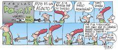 Fábulas de policías y ladrones. 20/07/2015