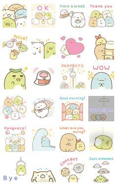 San-X Assorted Stationery Set Sumikko Gurashi Rilakkuma Letter set Memo Sticker