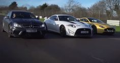 Place Your Bets: #AstonMartin V12 Vantage vs Mercedes C63 AMG Black Series vs Jaguar XKR-S GT (VIDEO) The battle of the #sportscars! Hit the pic to watch...
