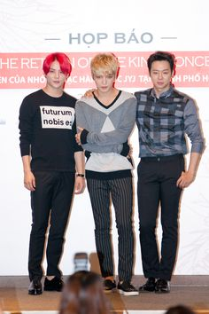 JYJ | Press Conference in Vietnam 140829