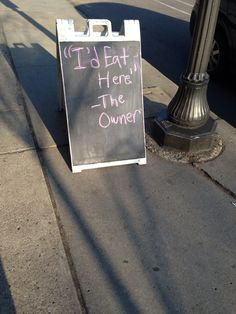 28 Of The Funniest Restaurant Chalkboard Signs. But